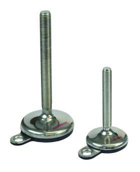 STELVOET Ø75mm (met fixeergat) | L=125xM12 - SW9