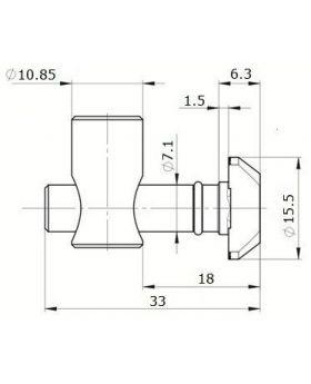SNELSPANVERBINDER (0°) - GROEF 8