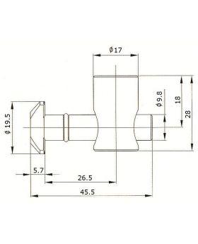 SNELSPANVERBINDER (0°) - GROEF 10