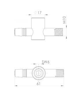 SNELSPANVERBINDER SCHROEFVERBINDING - GROEF 10 | M10