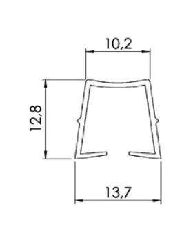 KLEMPROFIEL 1-3; TYPE 3 - GROEF 10