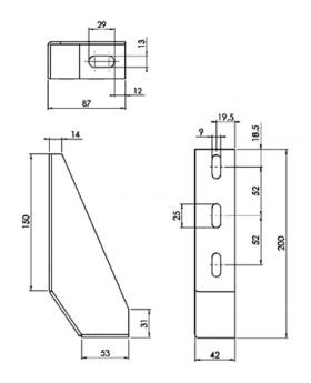 GRONDBEUGEL 39x200